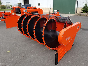 compact pro driven windrower